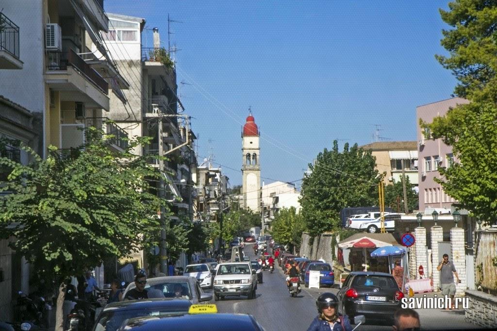 Корфу. Самый зеленый остров Греции.