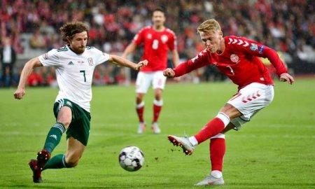Футбол.  Уэльс – Дания  16 ноября 2018. 22-35