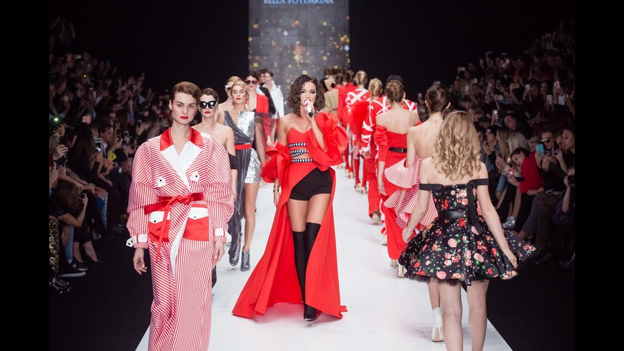 Показ Bella Potemkina Spring-Summer 2018 (Mercedes-Benz Fashion Week Russia)