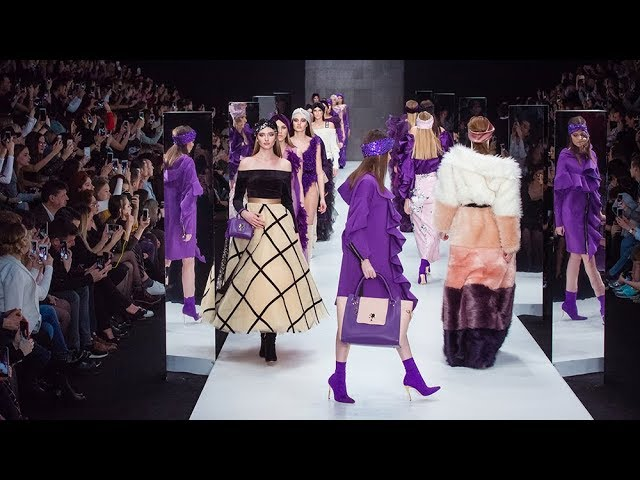 Показ Bella Potemkina FALL-WINTER 18/19 (Mercedes-Benz Fashion Week Russia)