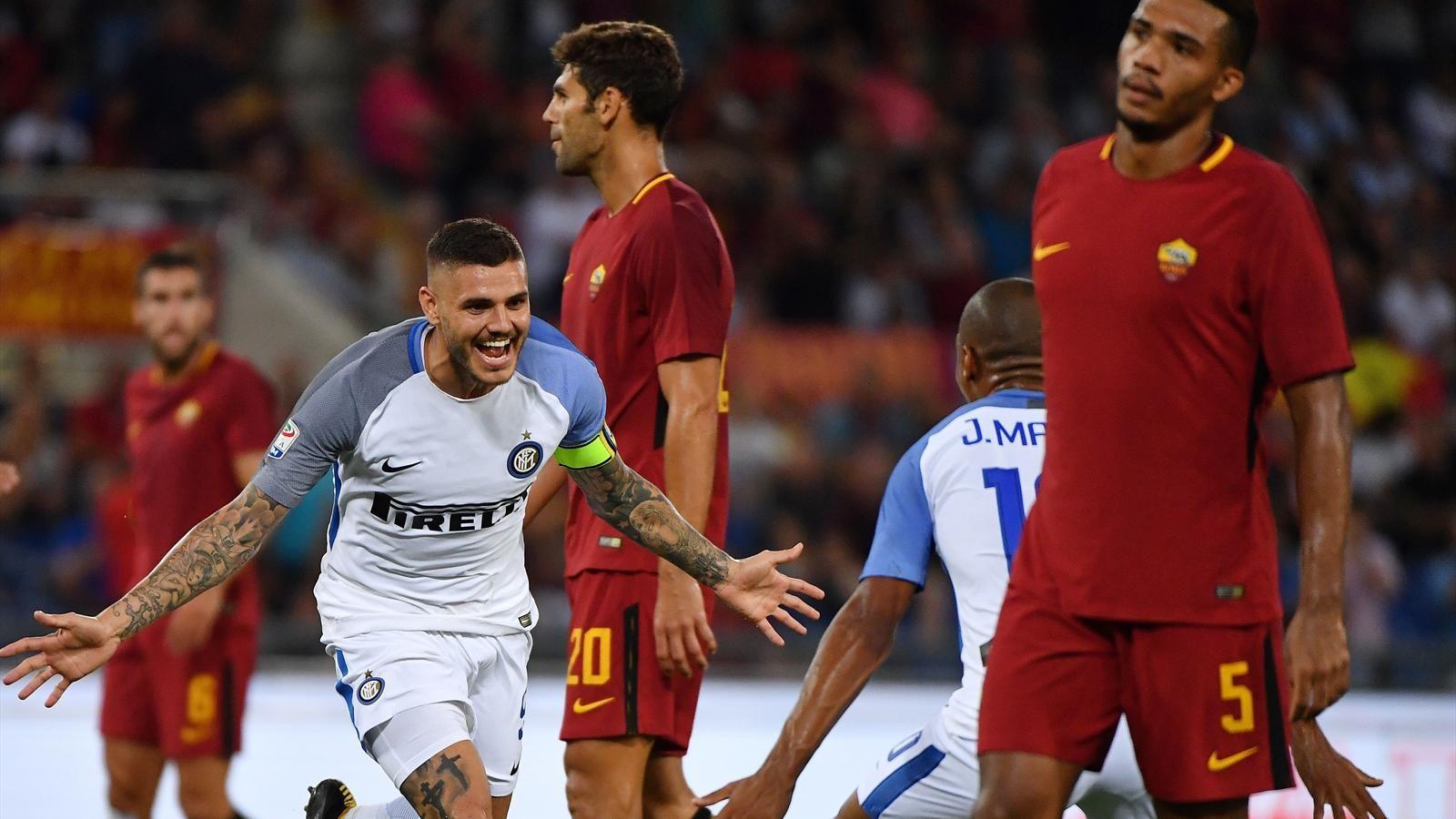 Прямая трансляция матча «Рома» — «Интер».2 декабря. 22:30.