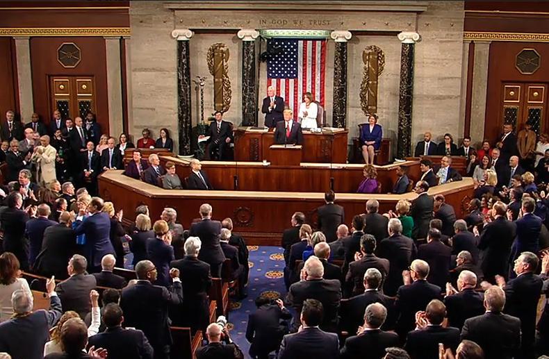 The White House (США): послание Трампа к Конгрессу США «О положении дел в стране»