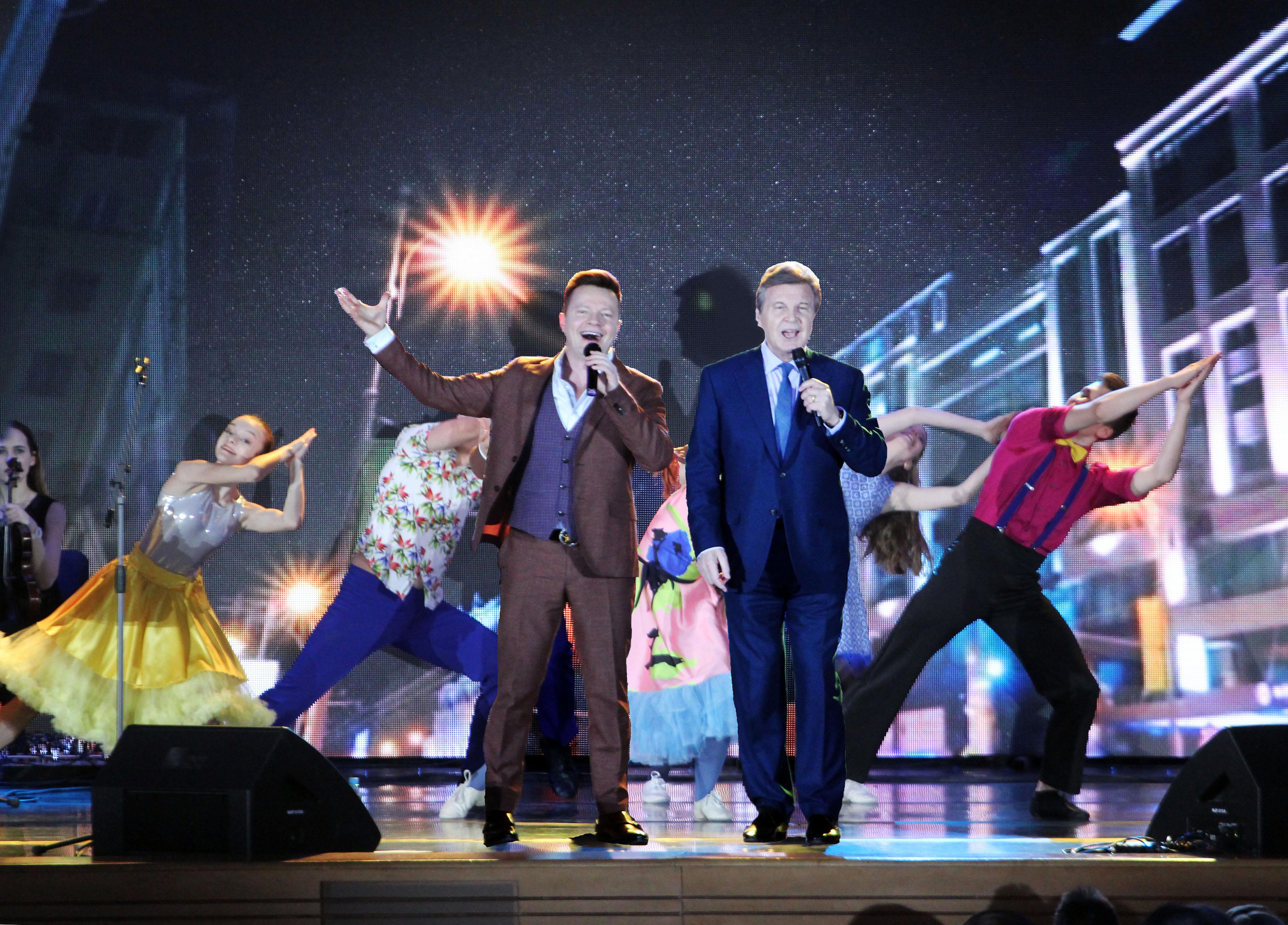 Юбилейный концерт Сергея Войтенко и Баян MIX в Кремле (фоторепортаж)