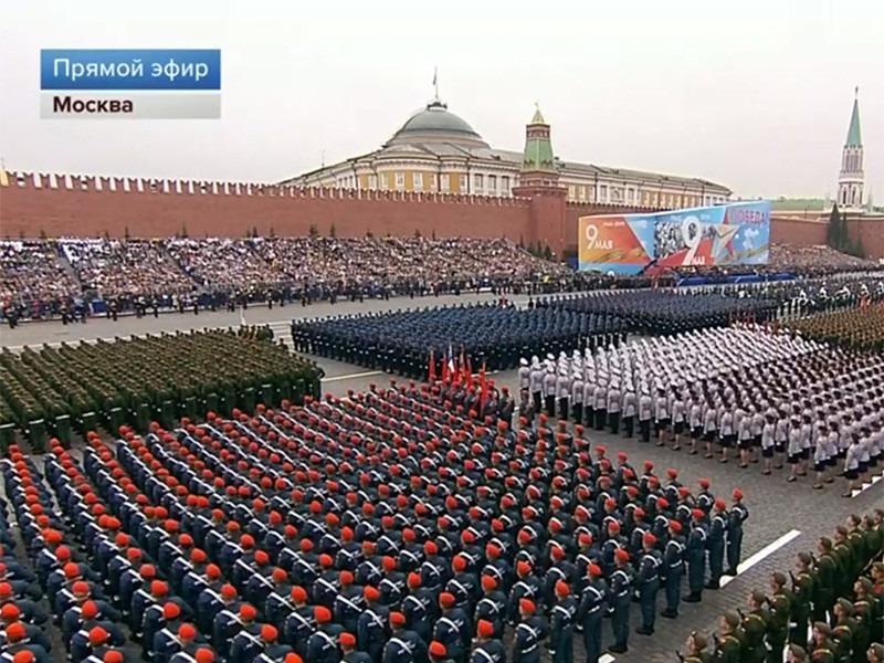 Парад 9 мая 2019 начался.Основные участники.