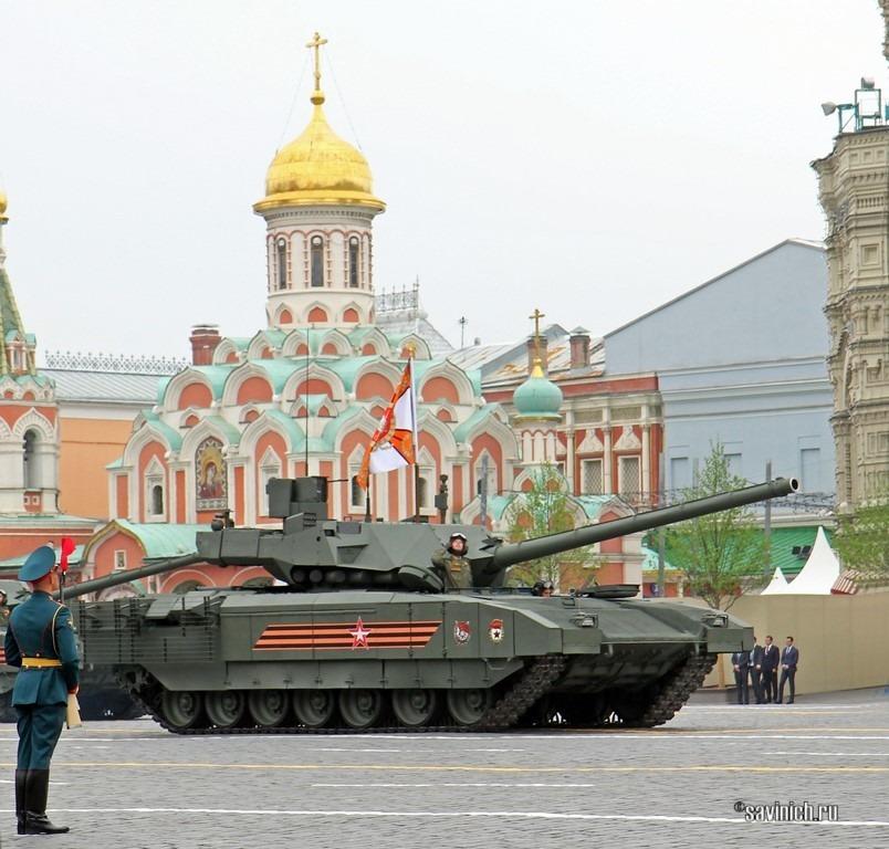 Военная техника на Параде Победы 2019