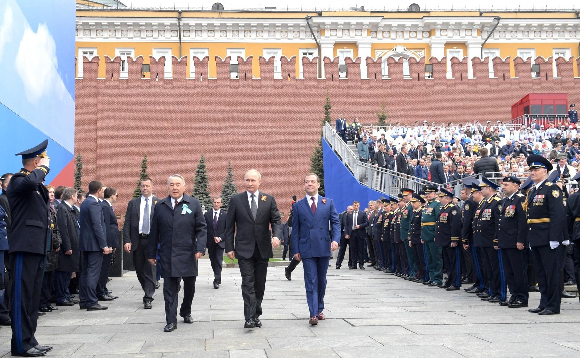 Выступление на Параде Победы В.В.Путина