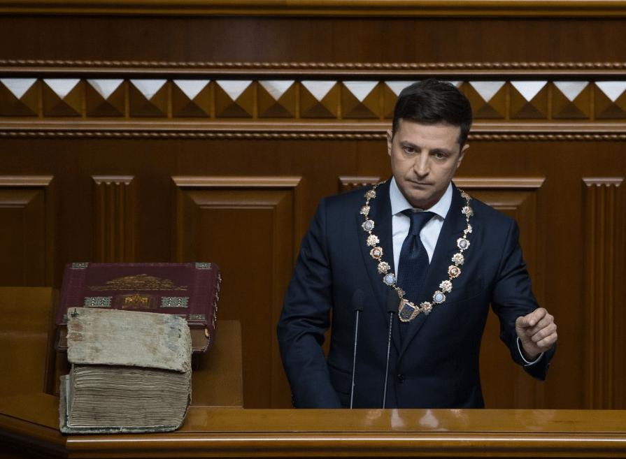 Инаугурационная речь Президента Украины Владимира Зеленского