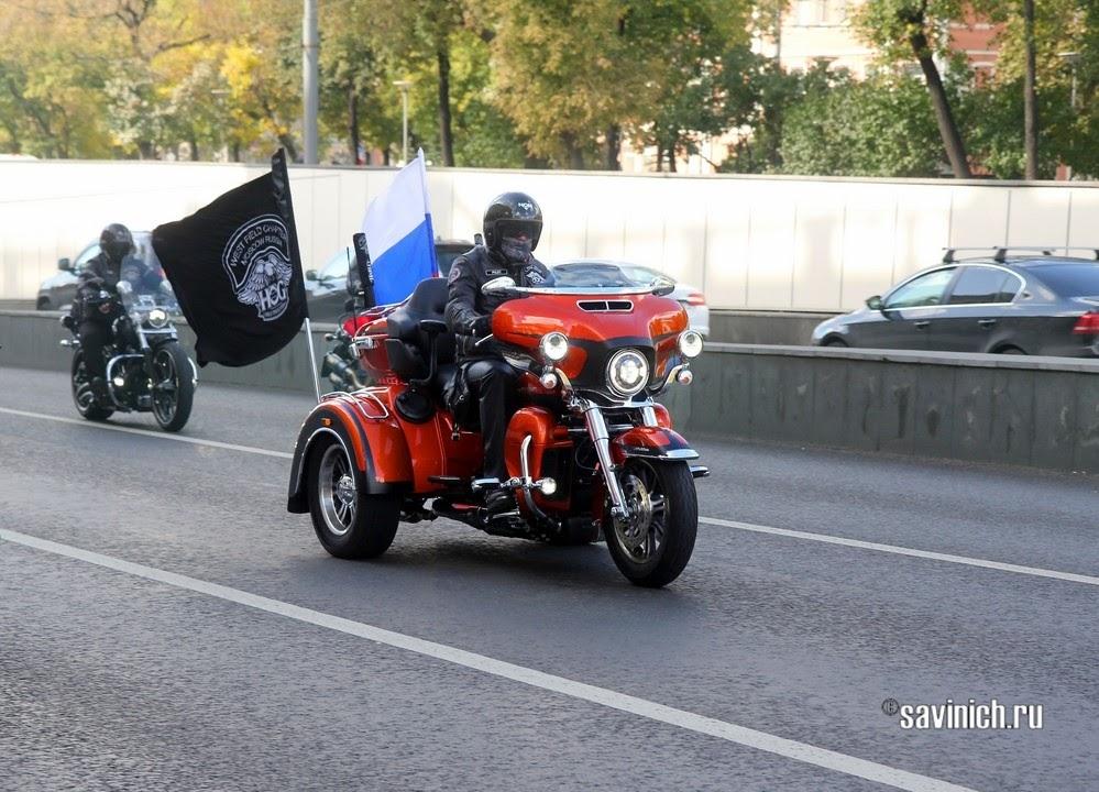 Мотофестиваль. 21 сентября 2019. Мотопарад по Садовому кольцу.