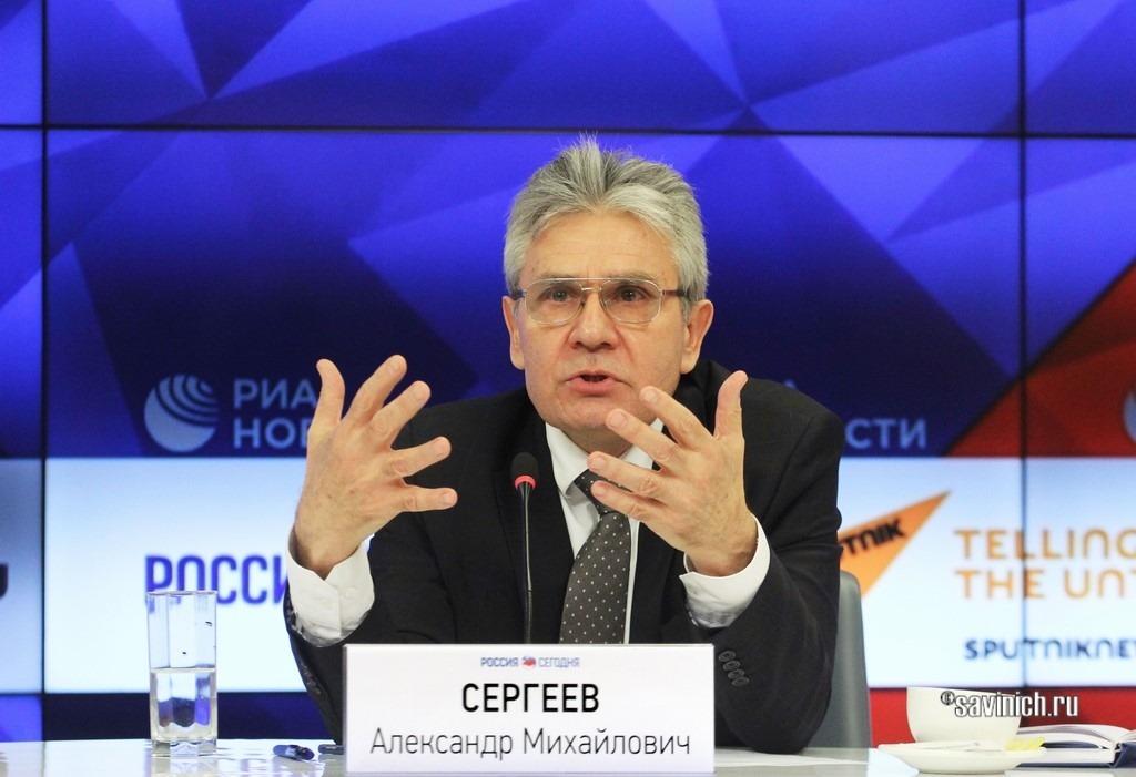 Пресс-конференция Президента РАН Сергеева А.М.