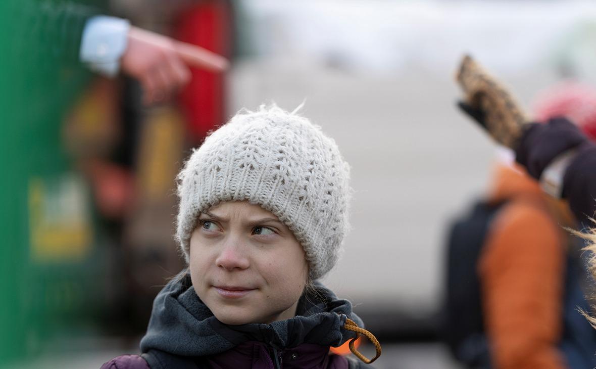 Грета Тунберг (Фото: Ali Lorestani / TT News Agency / Reuters)