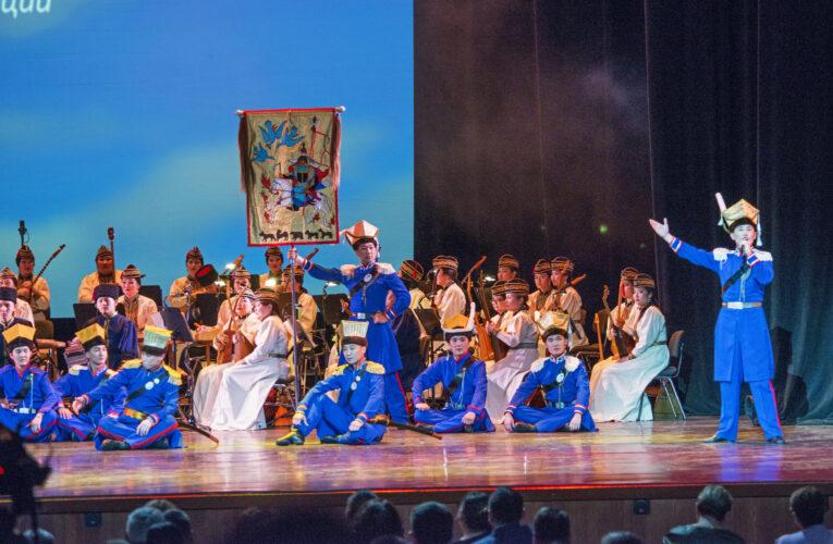 В Москве прошел концерт, посвященный 100-летию автономии Калмыкии(2-ая часть)
