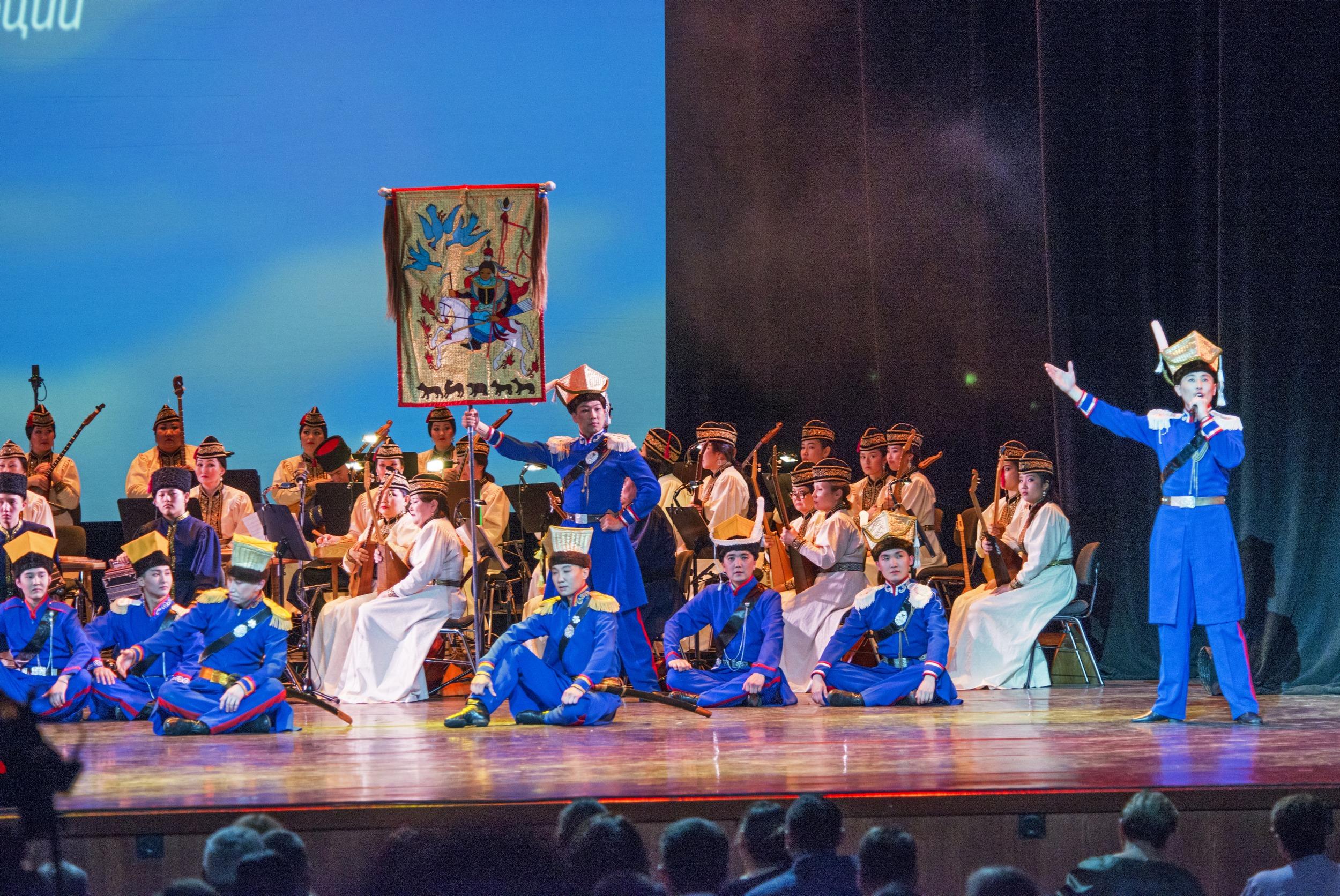 В Москве прошел концерт, посвященный 100-летию автономии Калмыкии