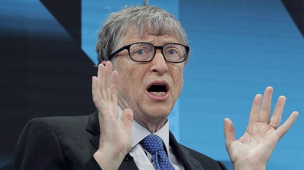 интервью CNBC с соучредителем Microsoft Биллом Гейтсом о пандемии