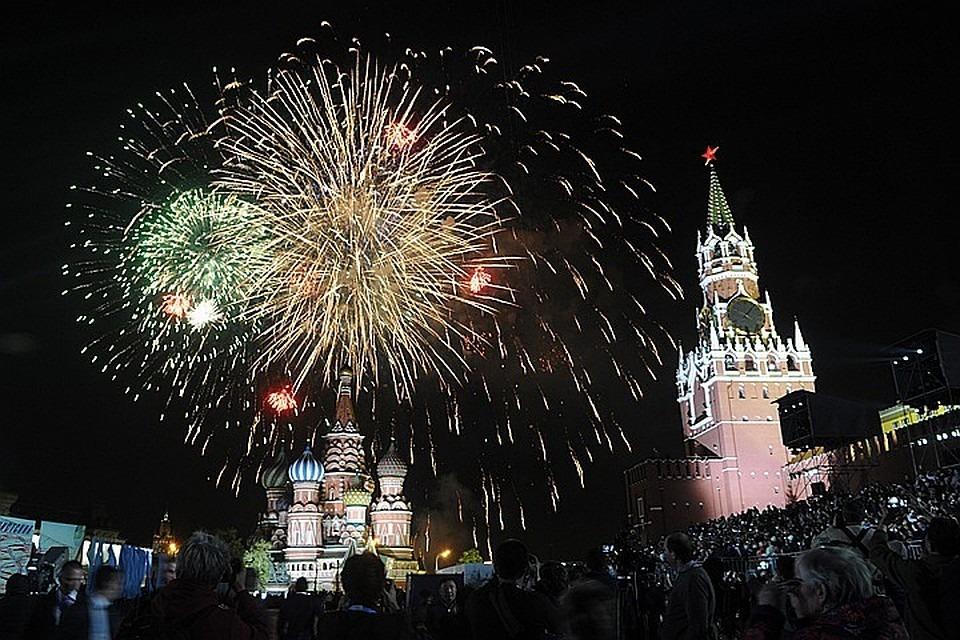Где лучше смотреть салют в Москве на День Победы