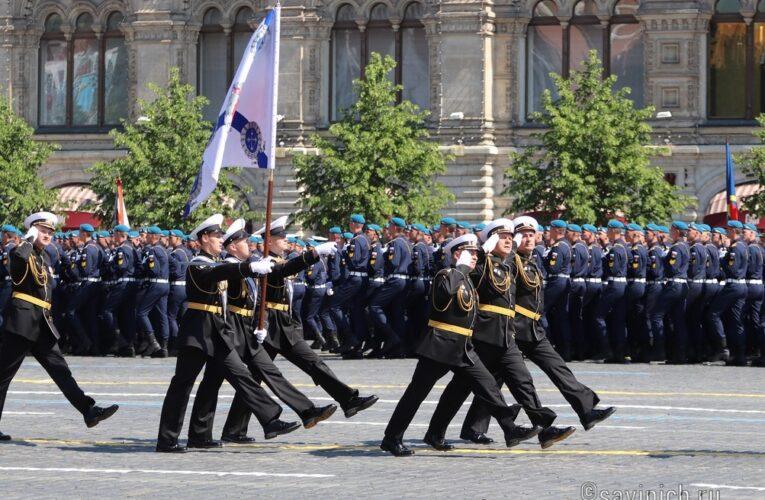 Парад Победы 2020.Москва. Кронштадтский морской кадетский военный корпус.