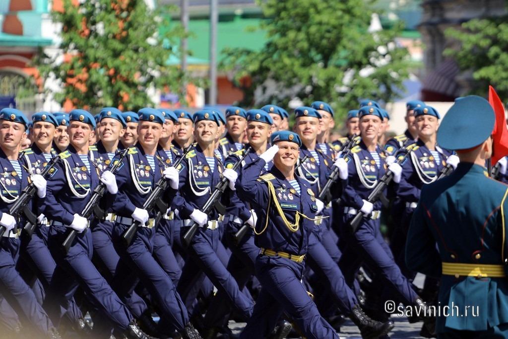 Парад Победы 2020.Москва Рязанское высшее воздушно –десантное училище