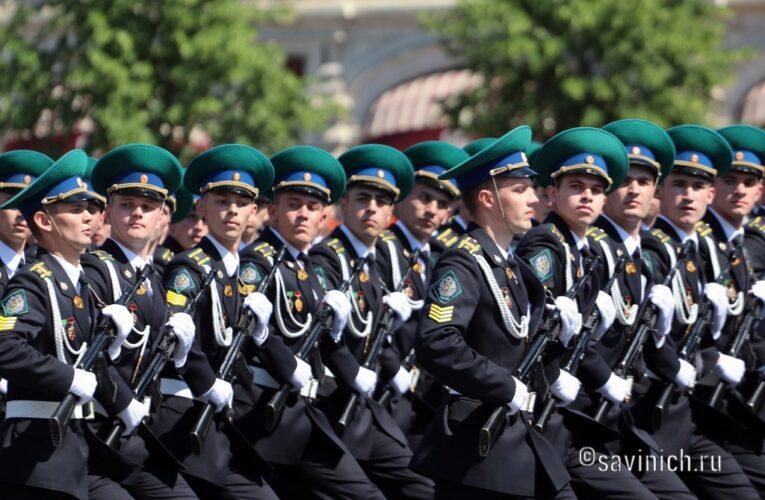 Парад Победы 2020.Московский пограничный институт.
