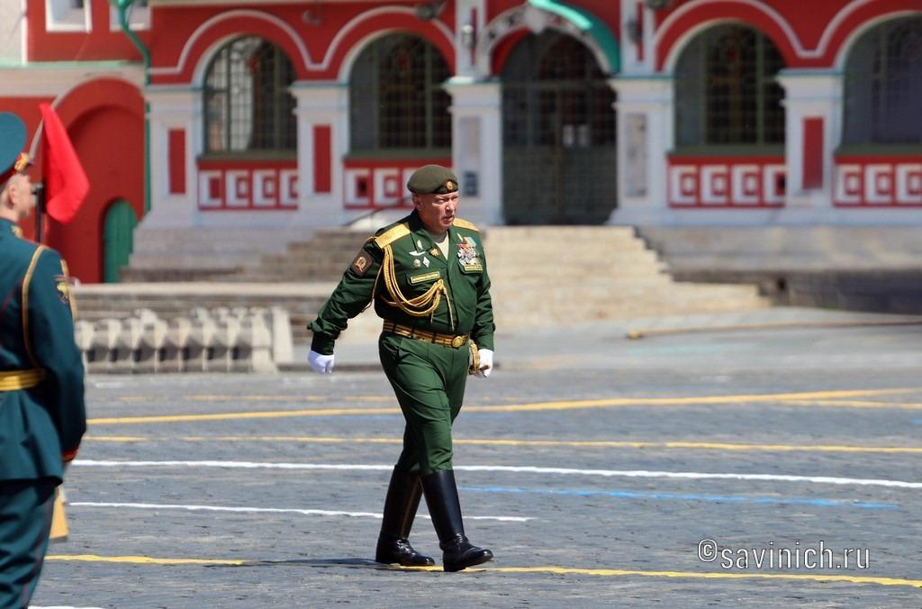 Парад Победы 2020.Москва Московское высшее общевойсковое командное училище.