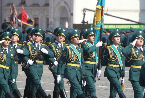 Казахстанские десантники примут участие в параде Победы