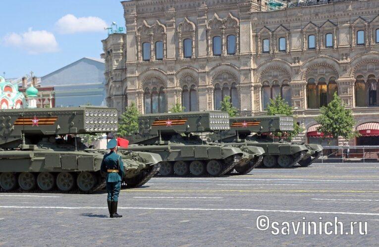 Парад Победы 2020. Москва.  Военная техника