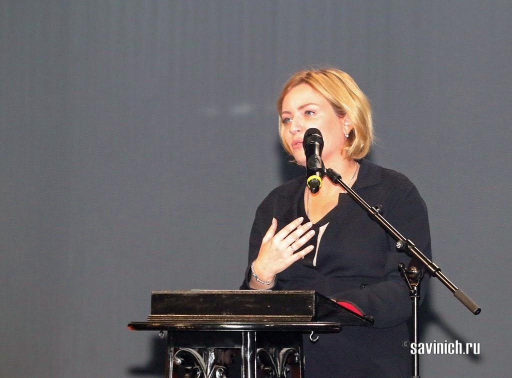 Министр культуры РФ Ольга Любимова поздравила Вахтанговцев с 100-м сезоном