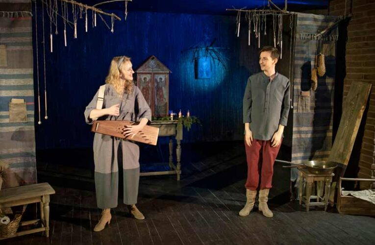 В Театре кукол Образцова состоялась премьера спектакля «Звезда по пути в Вифлеем».