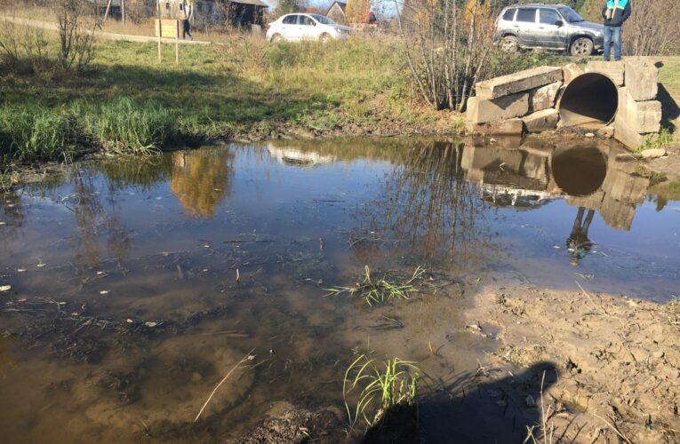 Тонну покрышек собрали при расчистке реки Козловки в Пермском крае