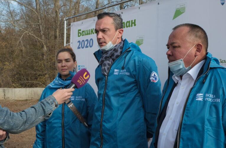 В 2020 году в два раза больше волонтеров вышли на очистку берегов водоемов в Башкирии