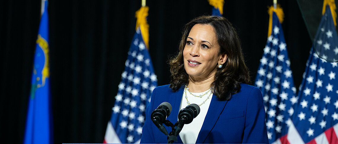 What kind of political leader is Kamala Harris?