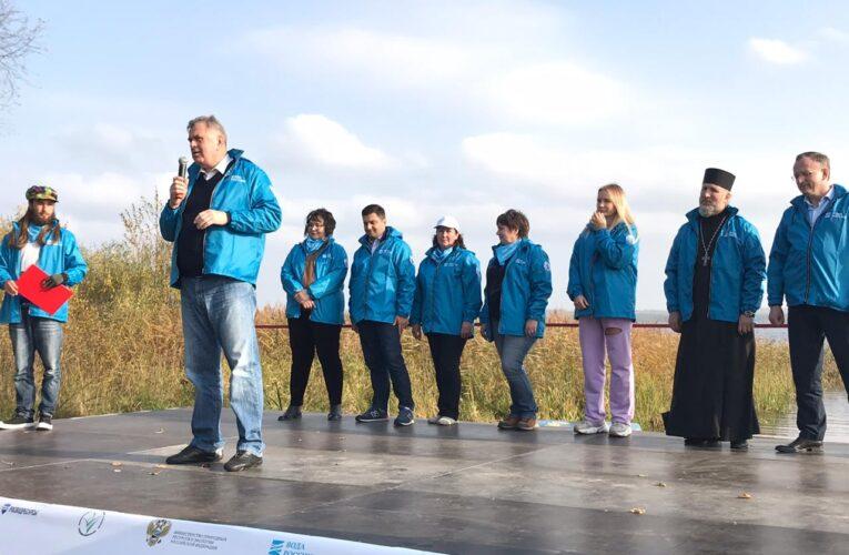 Более 800 мешков мусора собрали во время акции «Вода России» в Калужской области