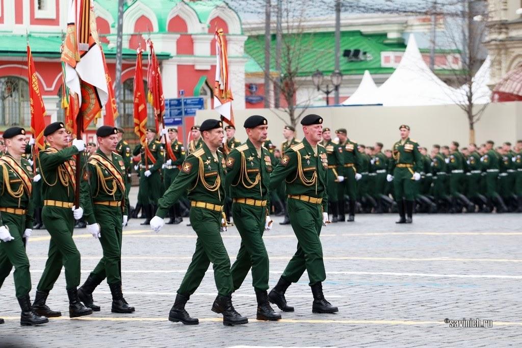 Парад Победы 2021. 4-ая танковая дивизия имени Андропова