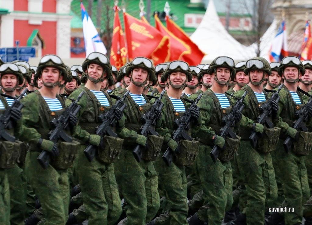 Парад Победы 2021. 331 парашютно-десантный полк