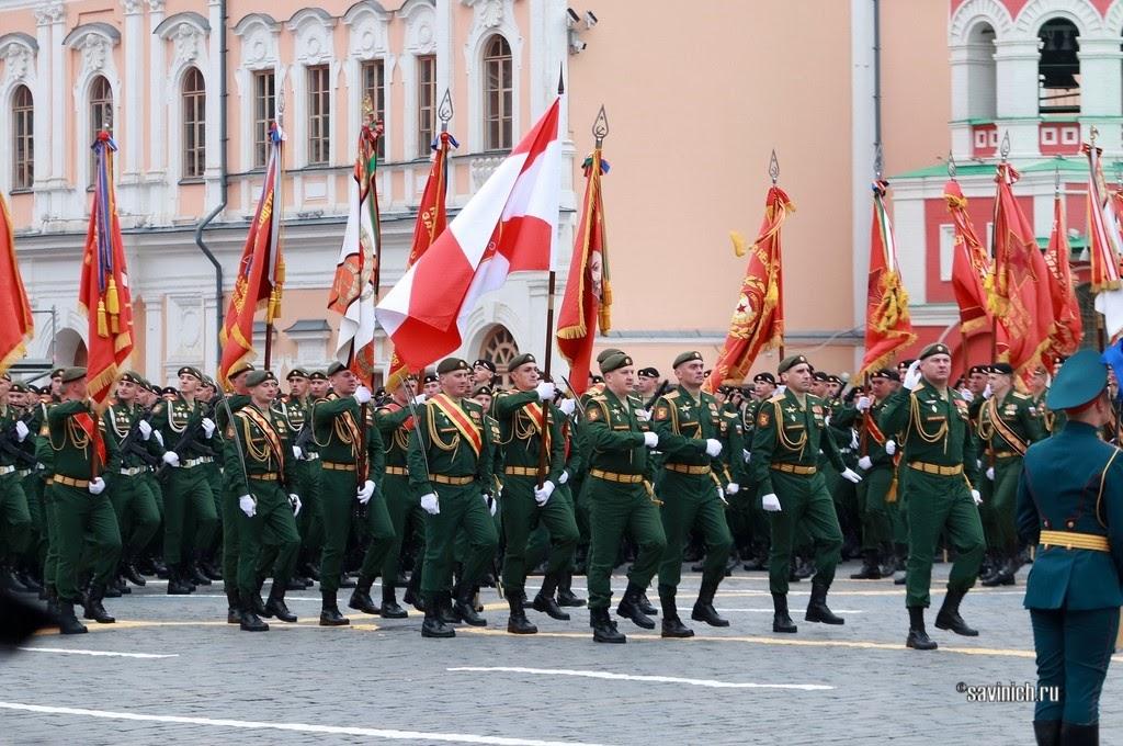 Парад Победы 2021. 2-я гвардейская мотострелковая Таманская дивизия имени М. И. Калинина