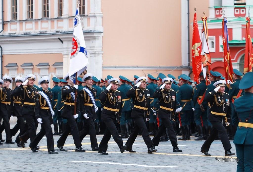 Парад Победы 2021. Кронштадтский морской кадетский военный корпус.