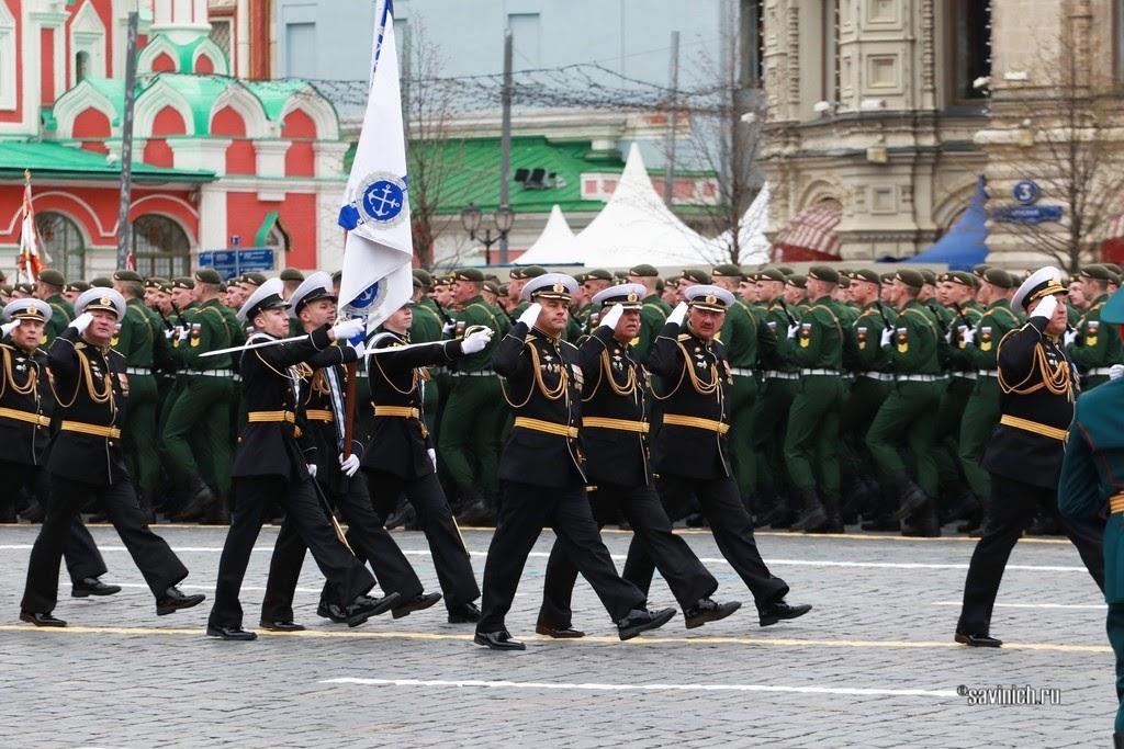 Парад Победы 2021. Нахимовское военно-морское училище (Севастополь)