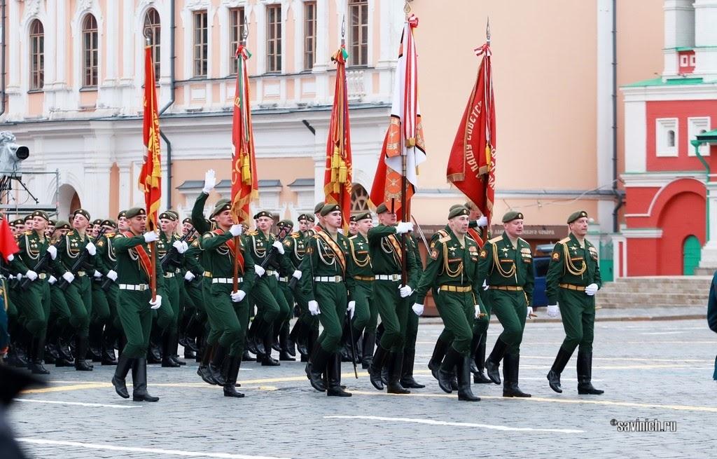 Парад Победы 2021. Московское высшее общевойсковое командное училище