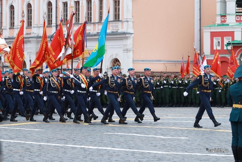 Парад Победы 2021. Рязанское высшее воздушно–десантное училище