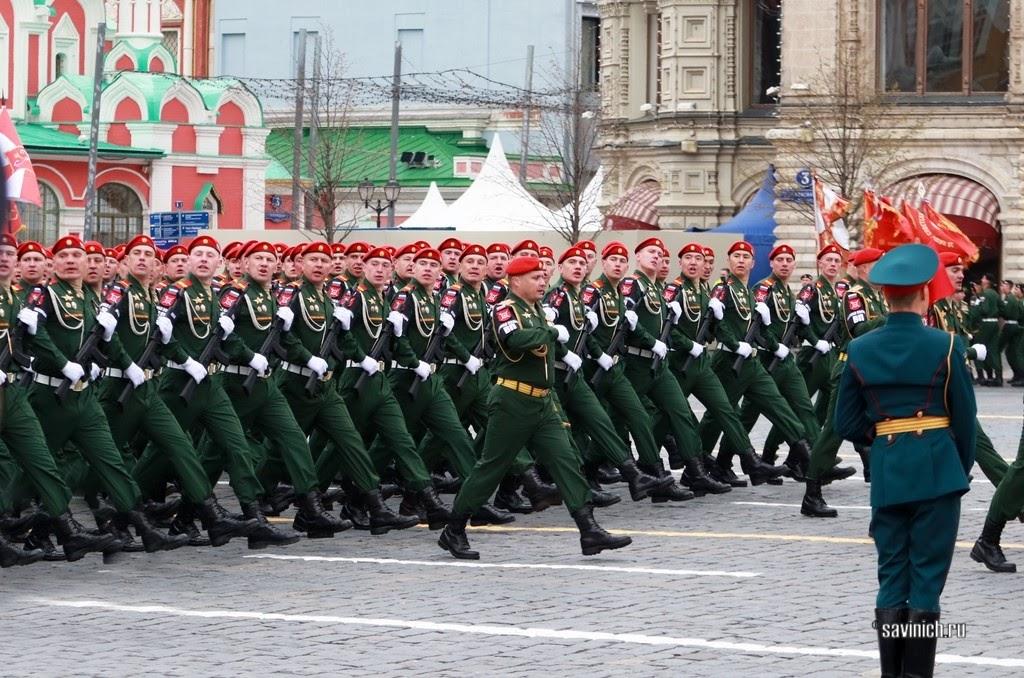 Парад Победы 2021. Рота военной полиции Министерства обороны по ЦФО