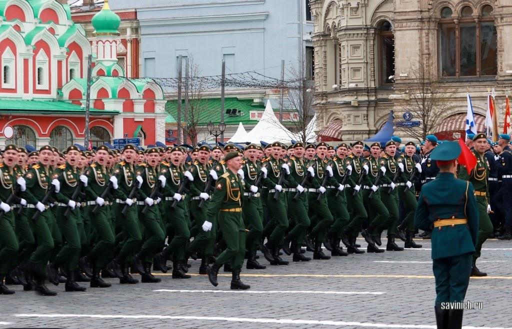 Парад Победы 2021. Военный университет Министерства обороны Российской Федерации