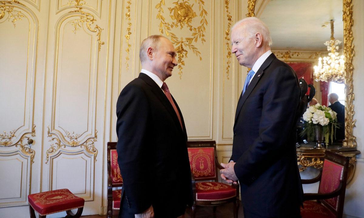 Пресс-конференция Путина после переговоров с Байденом. Прямая трансляция