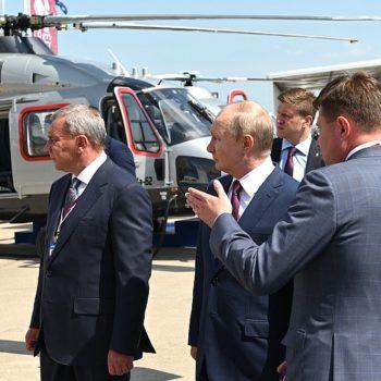 Владимир Путин открыл МАКС-2021